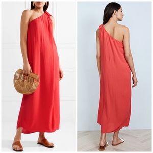 Mara Hoffman one shoulder beach coverup dress